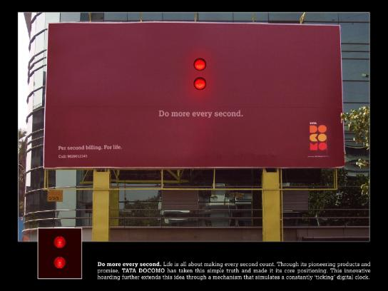 Tata Outdoor Ad -  Do more every second