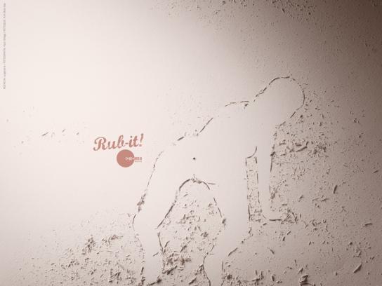 La Condoneria Print Ad -  Rub-it! (Doggy style)