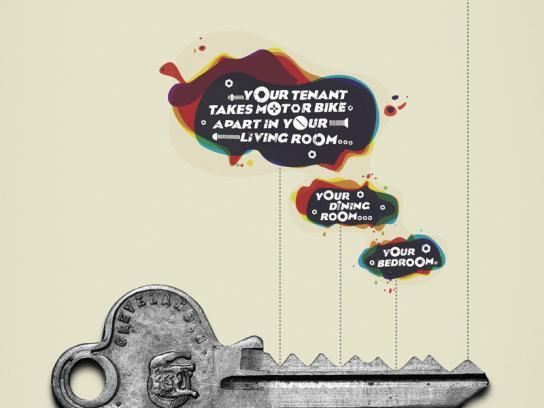 Domain Print Ad -  Tenant