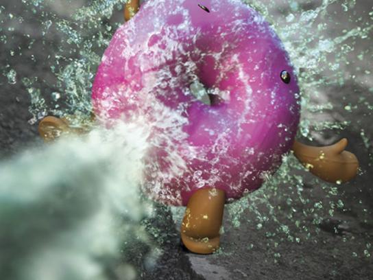 Extra Print Ad -  Donut