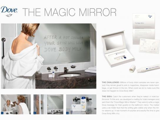 Dove Ambient Ad -  Magic Mirror