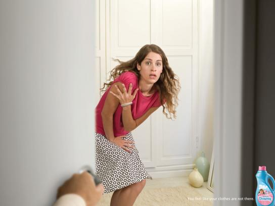 Downy Print Ad -  Woman, 1
