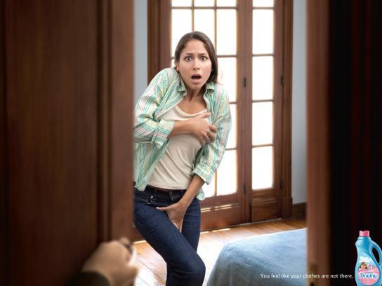 Downy Print Ad -  Woman, 2