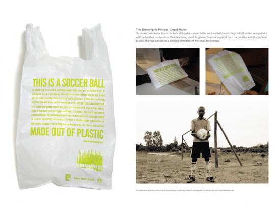 Dreamfields Ambient Ad -  Plastic bag