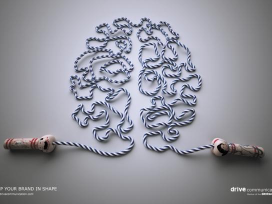 Drive Communication Print Ad -  Brain fitness