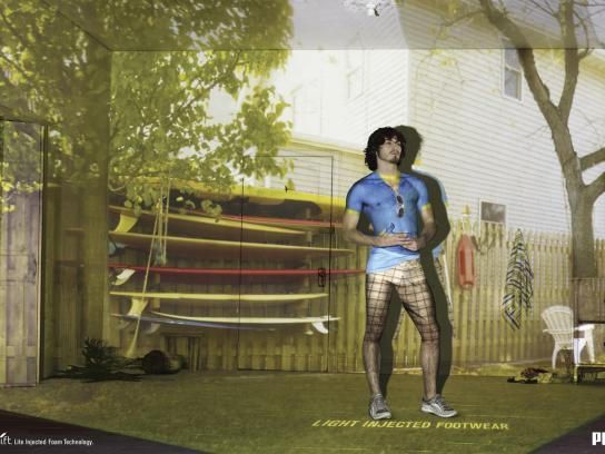 Puma Print Ad -  Surfer