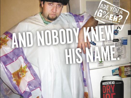 Moosehead Print Ad -  Nobody