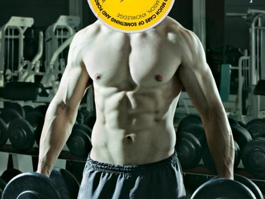 Editora de Cultura Print Ad -  Gym