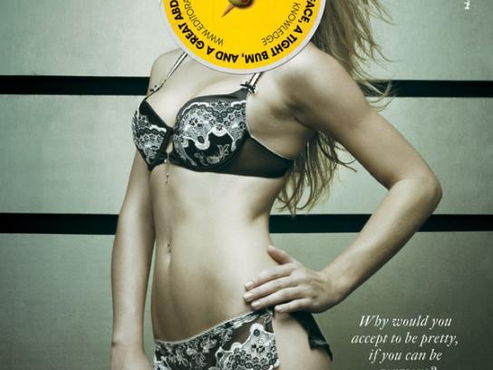 Editora de Cultura Print Ad -  Lingerie