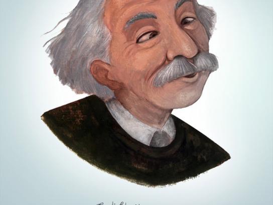 Panasonic Print Ad -  Einstein