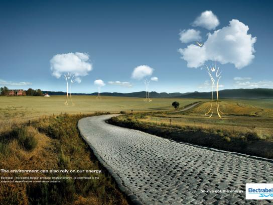 Electrabel Print Ad -  Environment
