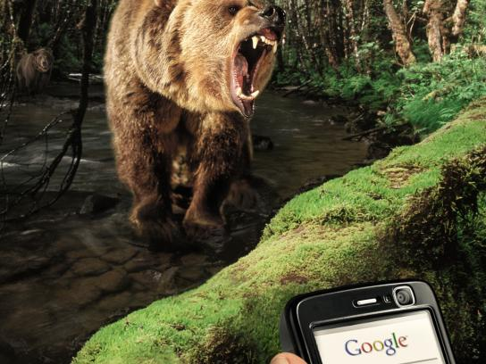 Ephone Print Ad -  Bear Trap