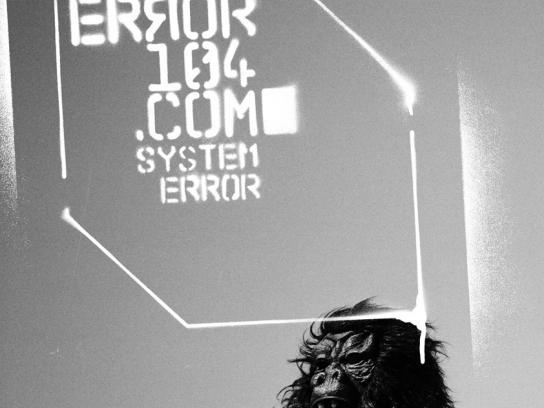 Setem Print Ad -  System error, 2