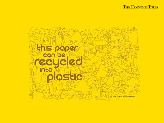 The Economic Times Print Ad -  Recycle