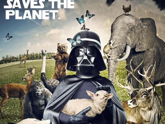 WWF Print Ad -  Darth-Fladder