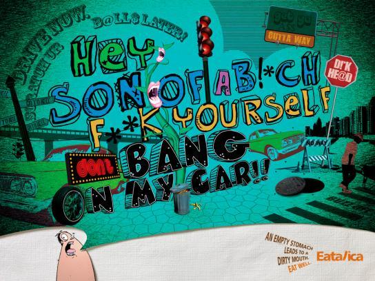 Eatalica Print Ad -  Car