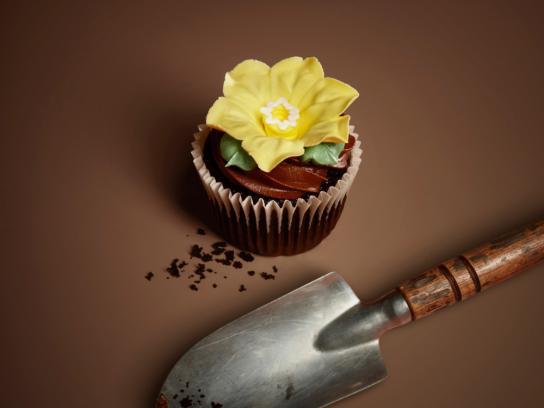 Eini & Co cupcakes Print Ad -  Spade