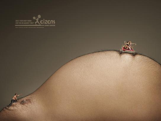 Eizens Print Ad -  Belly