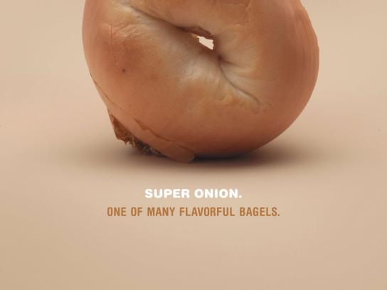 Elaine's Bagels Print Ad -  Onion