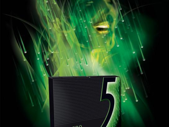 Wrigley's Print Ad -  Electro face