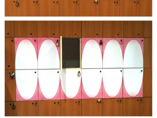 Elmex Ambient Ad -  Lockers