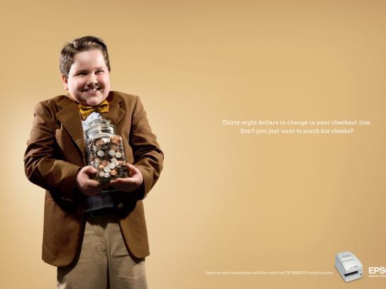 Epson Print Ad -  Piggy banker
