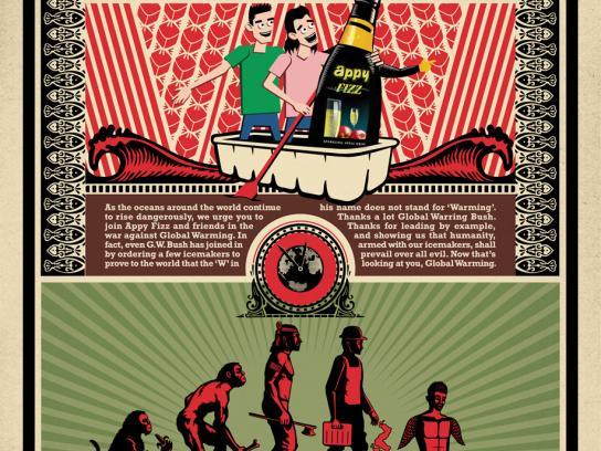 Appy Fizz Print Ad -  Evolution