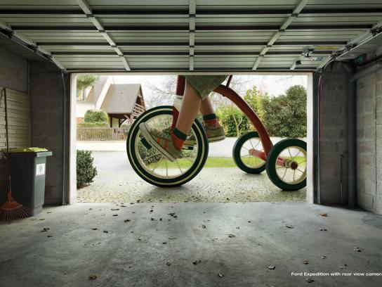 Ford Print Ad -  Tricycle