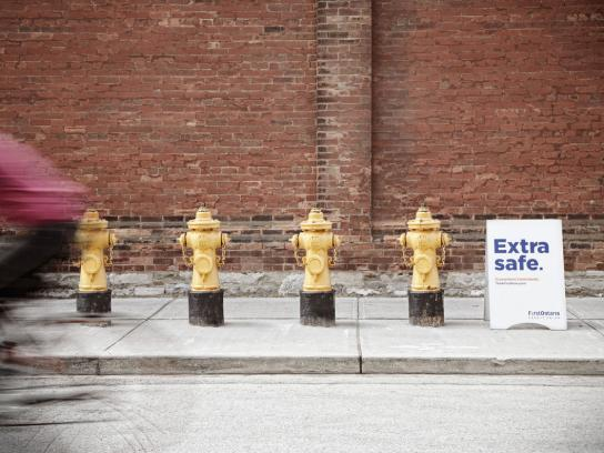 First Ontario Credit Union Print Ad -  Fire hydrants