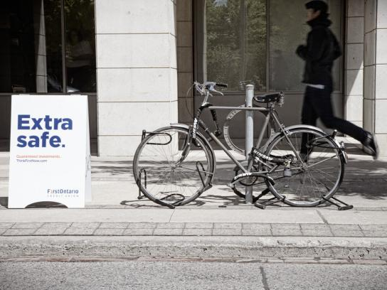 First Ontario Credit Union Print Ad -  Bike