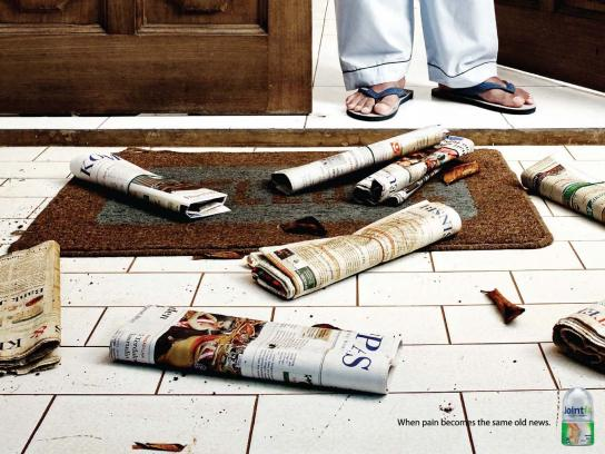 Jointfit Print Ad -  Newspaper