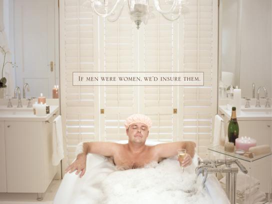 1st for Women Insurance Brokers Print Ad -  Bath