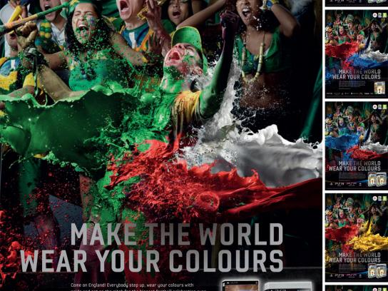 EA Games Print Ad -  Make The World Wear Your Colours