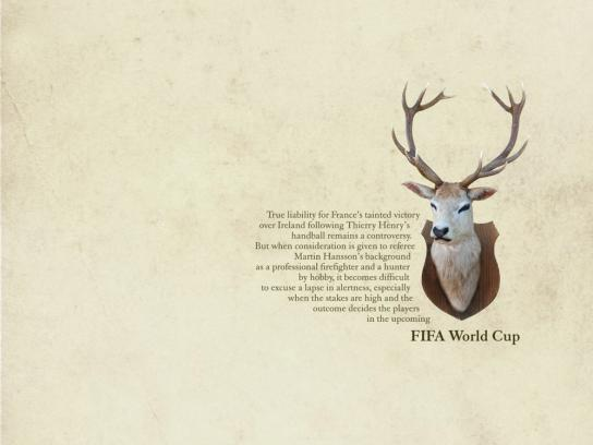 The Times Print Ad -  FIFA World Cup