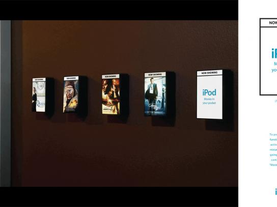 Movies in your Pocket campaign, Posters