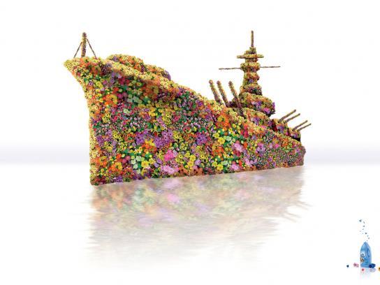 Flor Print Ad -  Warship