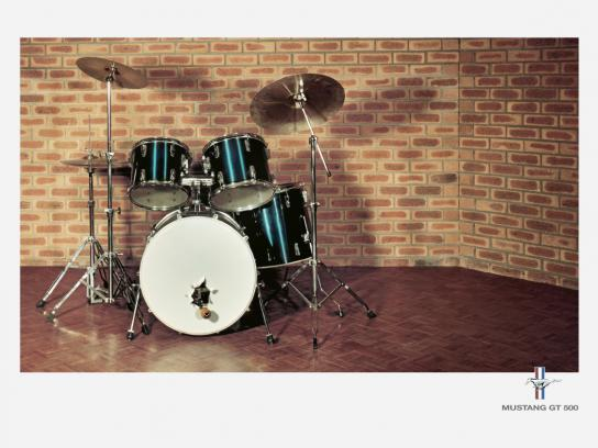 Ford Print Ad -  Drum