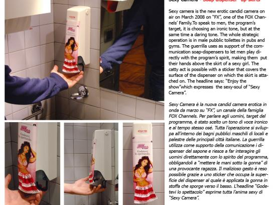 Fox Ambient Ad -  Soap