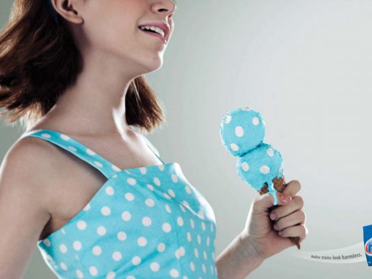 Fab Perfect Print Ad -  Ice cream