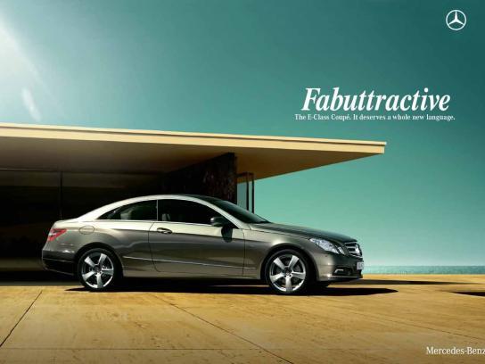 Mercedes Print Ad -  Fabuatractive