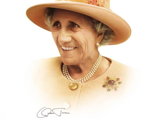 CNA Print Ad -  Queen Theresa