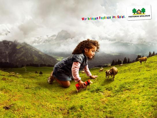 Pastorini Print Ad -  Cowgirl