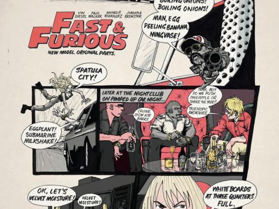 SKY Print Ad -  Fast & Furious