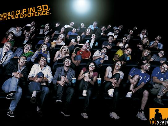 The Space Cinema Print Ad -  Fault