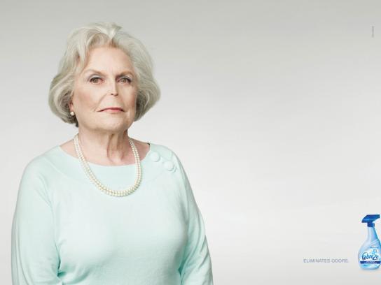 Procter & Gamble Print Ad -  Lady