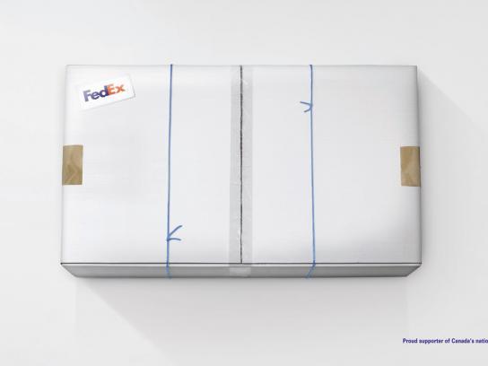 FedEx Print Ad -  Hockey