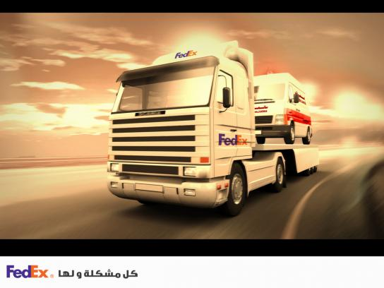 FedEx Print Ad -  Ambulance