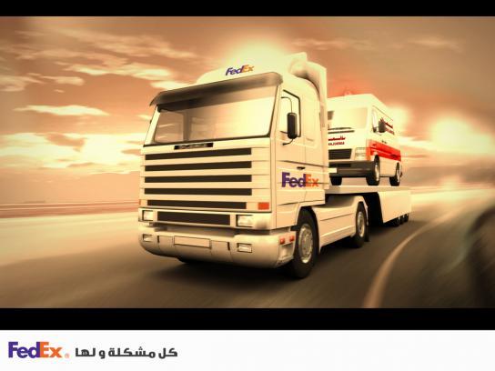 FedEx Print Ad -  Ambulance