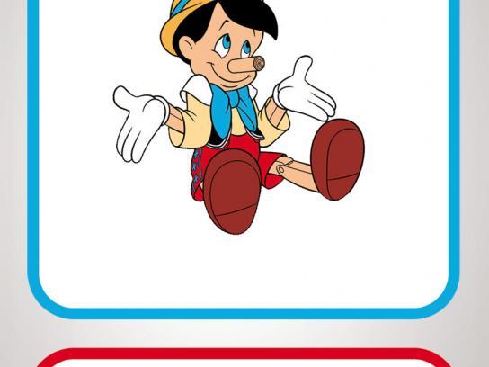Fiat Print Ad -  Pinocchio