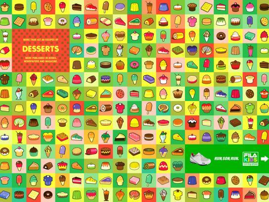 Fila Print Ad -  Dessert